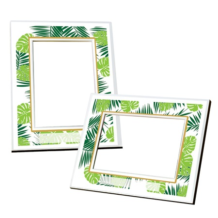 Full-color Frame - Tropical Palms