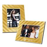 Full-color Frame - Metallic Gold Stripe