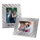 Full-color Frame - Metallic Silver Stripe