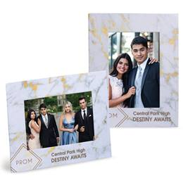 Full-color Budget Frame - Marble Prom