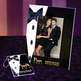 Full-color Frame and Key Chain Set - Formal Tuxedo