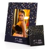 Full-color Frame and Key Chain Set - Starry Sky