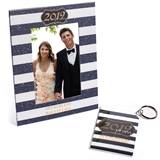 Full-color Frame and Key Chain Set - Gold Glitter 2019