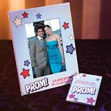 Full-color Frame and Key Chain Set - PROM! Stars
