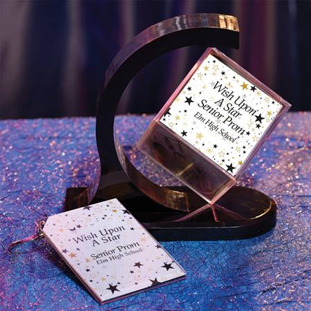 Starscape Photo Cube/Key Chain Favor Set