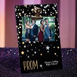 Sparkle Stars PROM Clipboard Frame
