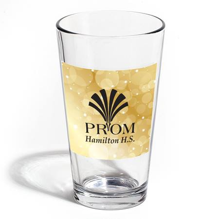 Full-color Cardini Tumbler - Gold Bubbles
