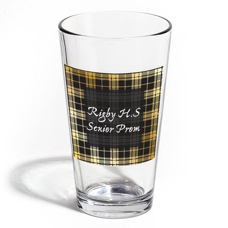 Full-color Cardini Tumbler - Houndstooth