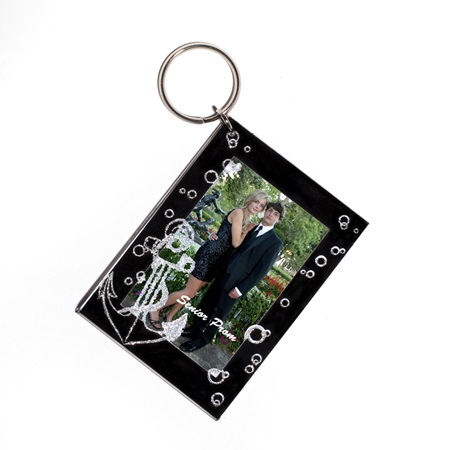 Anchors Away Photo Key Chain