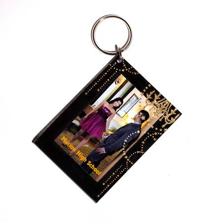 Gold Chandelier Chains Photo Key Chain