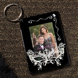 Lace Mask Photo Key Chain