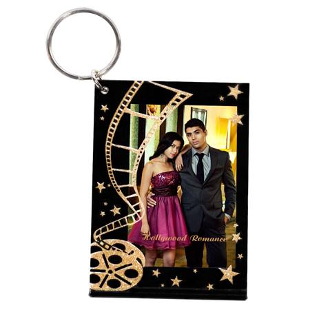 Golden Movies Photo Key Chain