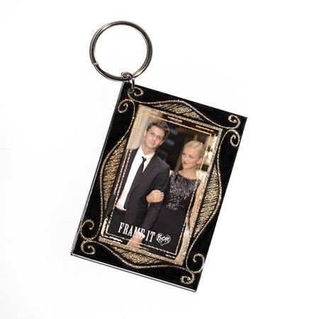 Mirror Image Photo Key Chain