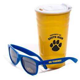 Sipper Cup and Sunglasses Favor Set