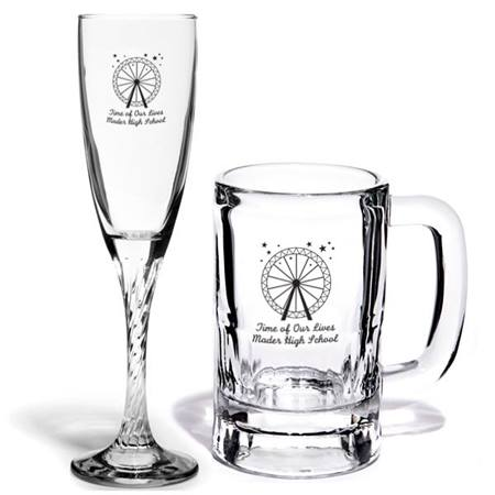 Nelson Glassware and Mug Set