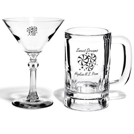 Jefferson Glassware and Mug Set