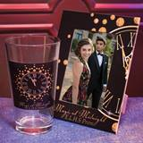 Full-color Frame and Tumbler Favor Set - Golden Clock