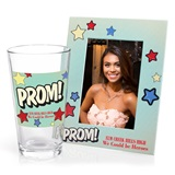 Full-color Frame and Tumbler Favor Set - PROM! Stars