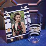Full-color Frame and Tumbler Set - Stars and Bars