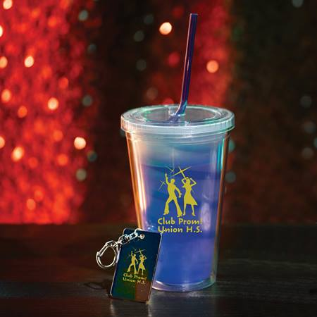 Moody Tumbler and Key Chain Favor Set