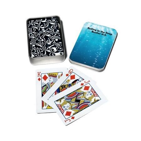 Full-color Playing Card Tins - Rolling in the Deep