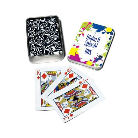 Full-color Playing Card Tins - Make A Splash