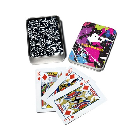 Full-color Playing Card Tins - Prismatic