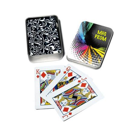 Playing Card Tins - Time Warp