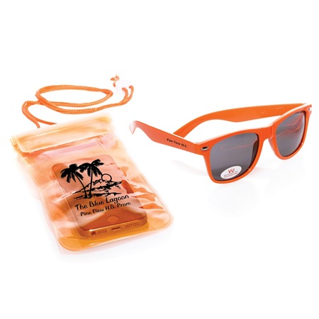 Sunglasses with Waterproof Pouch