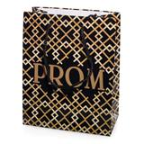 Gold and Black Deco Prom Gift Bag