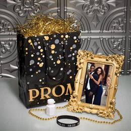 Vintage Golden Prom Swag Bag