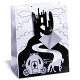 Theme Gift Bag – Black Castle & White Coach