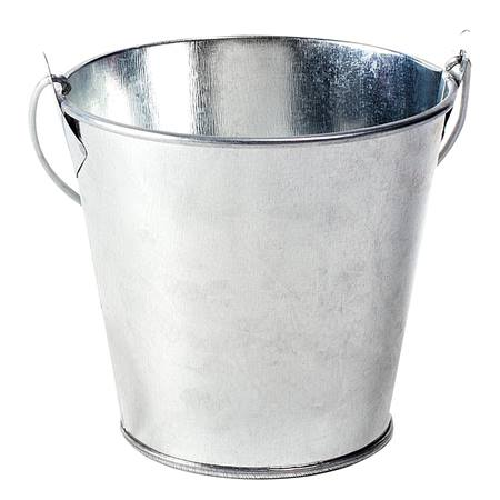 Large Tin Bucket - Blank
