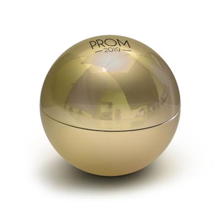 Prom 2019 Gold Metallic Lip Balm Ball