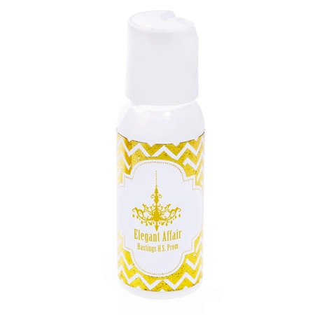 Metallic Foil Lotion - Gold Chevrons