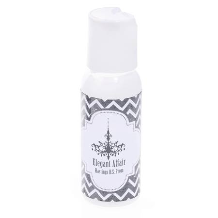 Metallic Foil Lotion - Silver Chevrons