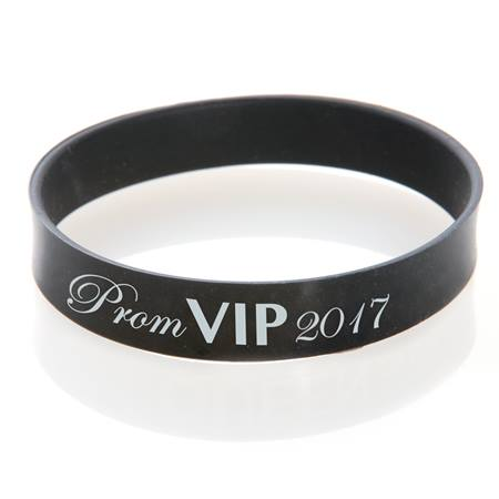 Prom VIP 2017 Wristband - Black/White