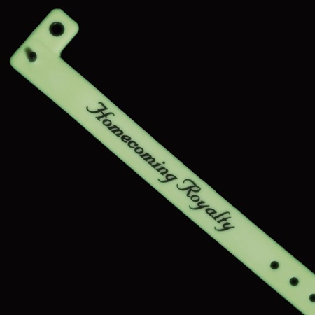 Glow-in-the-Dark Homecoming Royalty Wristband