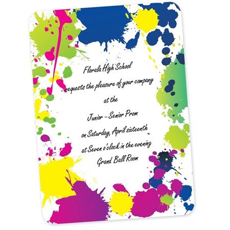 full color magnetic invitations make a splash anderson s