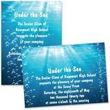 "5"" x 7"" Invitation - Rolling in the Deep"