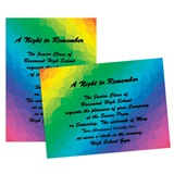 "Rainbow Prism 4"" x 6"" Invitation"