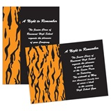 "Tiger 4"" x 6"" Invitation"