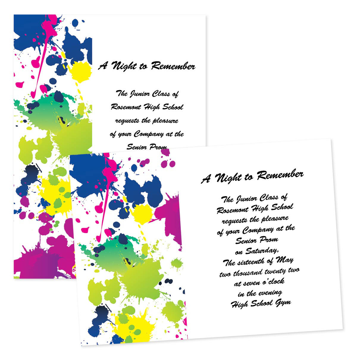 4x6 invitation template - Kubre.euforic.co
