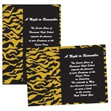 "Tiger Stripes 4"" x 6"" Invitation"
