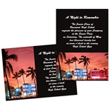 "City Sunset 4"" x 6"" Invitation"