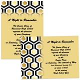 Honeycomb 4x6 Invitations