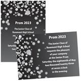 Sparkle Bubbles 4x6 Invitations