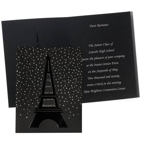 Stars of Paris Invitation