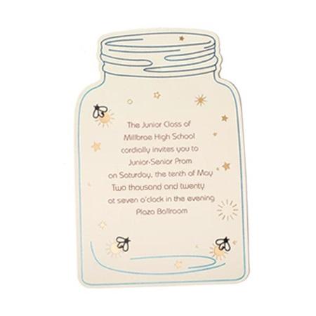 ivory mason jar invitation anderson s