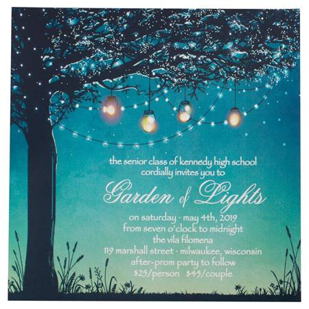 Night By Lantern Light Invitation